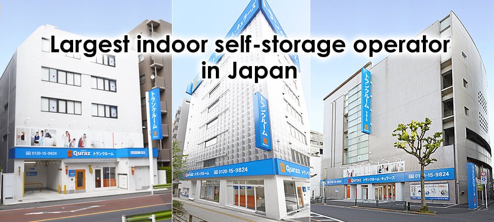 Largest indoor self-storage operator in Japan